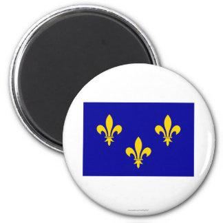Île-de-France flag Fridge Magnets