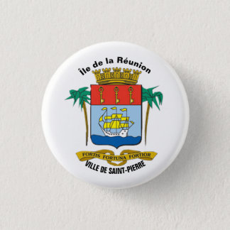 ile_de_la_reunion 3 cm round badge