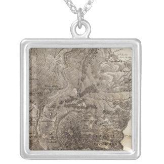 Ile de Mascareigne Silver Plated Necklace