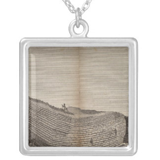 Ile de Staffa Silver Plated Necklace
