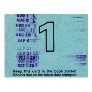 Ilium Public Library Card No. 1 Postcard
