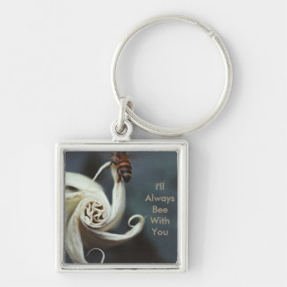 I'll always bee with you inscripted key chain