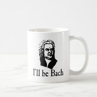 I'll Be Bach Basic White Mug