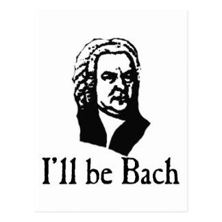I'll Be Bach Postcard