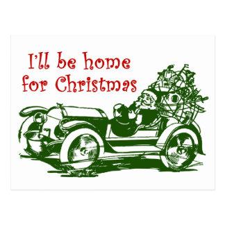 I'll Be Home For Christmas Postcards