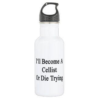 I'll Become A Cellist Or Die Trying 532 Ml Water Bottle