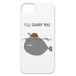I'll carry you (phone case) barely there iPhone 5 case