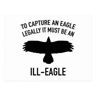 Ill-Eagle Postcard