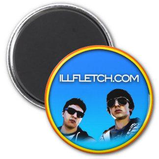 ill Fletch Car Magnet