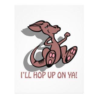 I'll Hop Up On Ya Flyer
