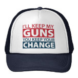 I'll Keep My Guns, You Keep Your Change Mesh Hat