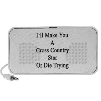 I'll Make You A Cross Country Star Or Die Trying PC Speakers