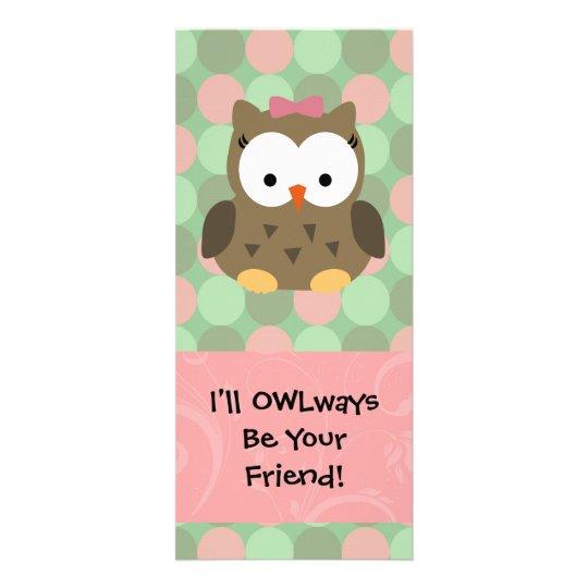 I'll OWLways be Your Friend Rack Card