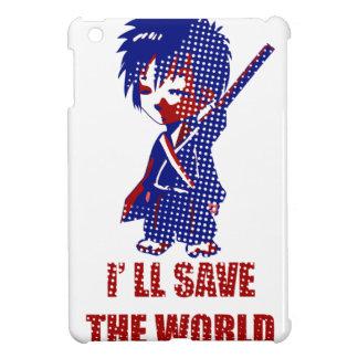I'll Save The World Samurai Boy iPad Mini Covers