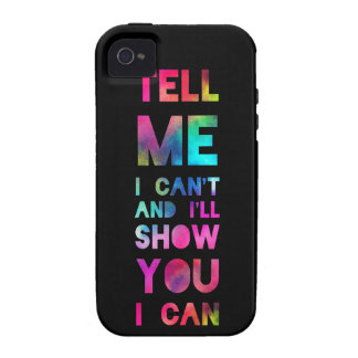 I'll Show You I Can Rainbow Case-Mate iPhone 4 Cases