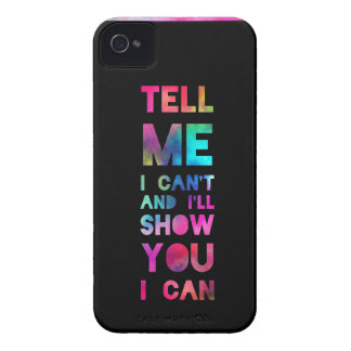 I'll Show You I Can Rainbow iPhone 4 Covers