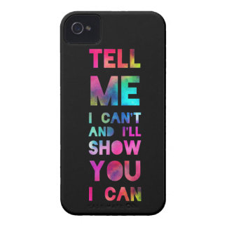 I'll Show You I Can Rainbow iPhone 4 Cases