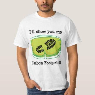 I'll show you my Carbon Footprint! T-Shirt