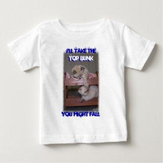 I'll Take the Top Bunk Lynx Point Siamese Tshirt