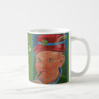 I'll Whistle For Me Tea Basic White Mug