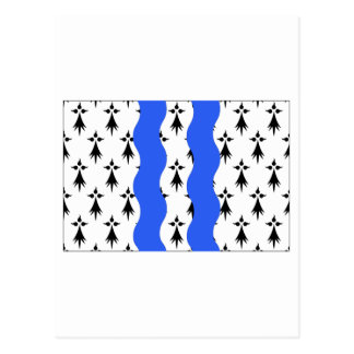 Ille-et-Vilaine flag Post Card