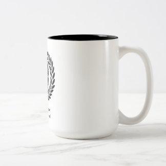 """Illegitimi non carborun... Two-Tone Mug"