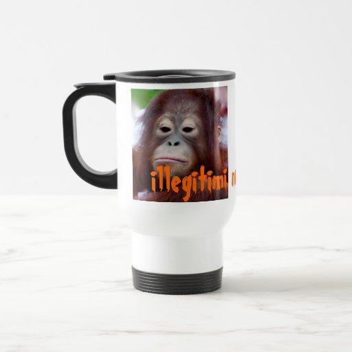 Illegitimi non carborundum Frown versus Smile Mugs