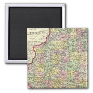 Illinois 10 magnet