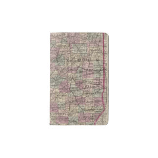 Illinois 10 pocket moleskine notebook