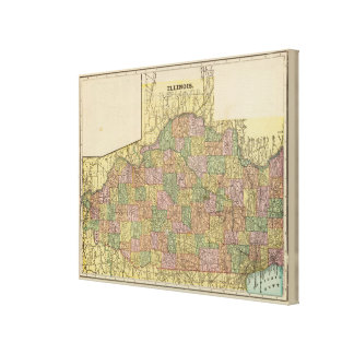 Illinois 11 canvas print