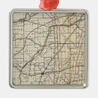Illinois 13 christmas ornament