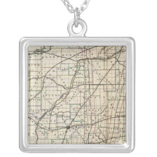 Illinois 13 silver plated necklace