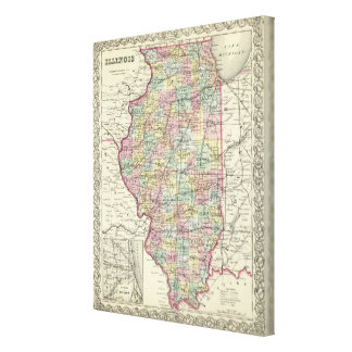 Illinois 2 canvas print