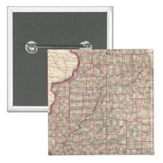 Illinois 3 15 cm square badge