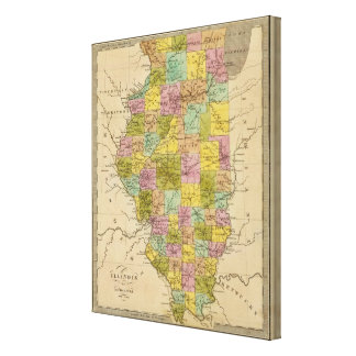 Illinois 3 canvas print