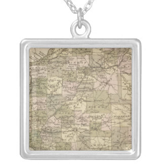 Illinois 4 silver plated necklace