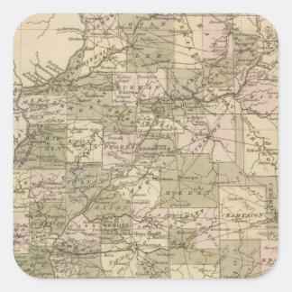 Illinois 4 square sticker