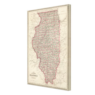 Illinois 5 canvas print