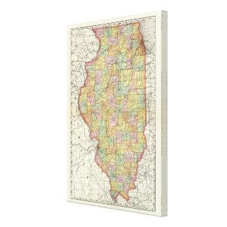 Illinois 5 canvas print