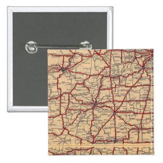 Illinois 8 15 cm square badge