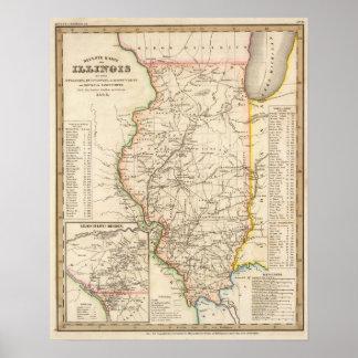 Illinois 8 poster