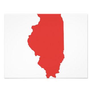 ILLINOIS - a RED State Custom Invitations