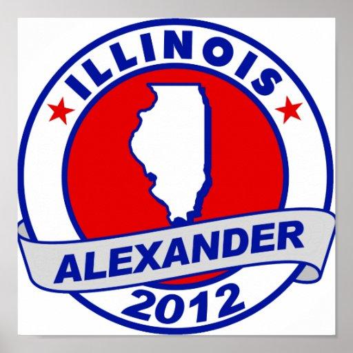 Illinois Alexander Posters