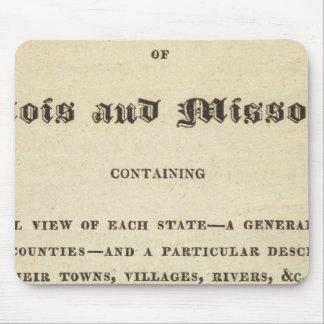 Illinois and Missouri 2 Mouse Mat