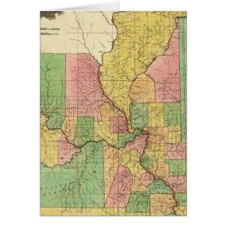 Illinois and Missouri Card