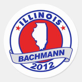 Illinois Bachmann Stickers