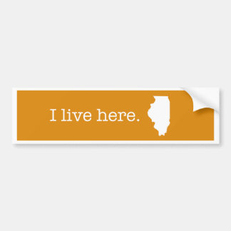 Illinois Bumper Sticker
