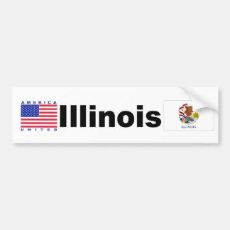 Illinois Bumper Sticker