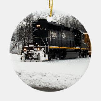 Illinois Central 6204 Christmas Ornament