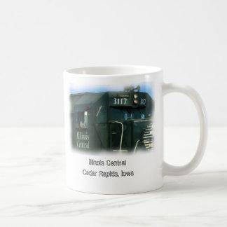 Illinois Central, Cedar Rapids, Iowa Coffee Mug